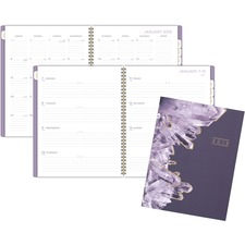 AAG 5129091 AT-A-GLANCE Cambridge Crystal Monthly Planner AAG5129091