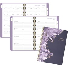 AAG5129200 - At-A-Glance Cambridge Crystal Weekly/Monthly Planner
