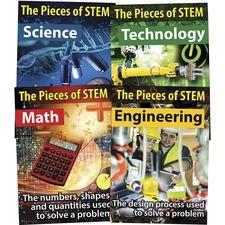 CDP 410097 Carson STEM Bulletin Board Set CDP410097