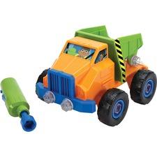 EII 4129 Eductnl Insights Design & Drill Toy Dump Truck EII4129
