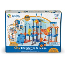LRN LER2843 Learning Res. City Engineering Building Play Set LRNLER2843