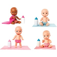 MTT FLB35 Mattel Little Mommy Mini Baby Dolls Set MTTFLB35