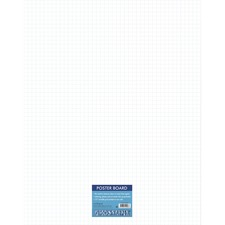 PAC CAR12006 Pacon Ghostline Grid Poster Board PACCAR12006