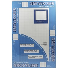 PAC CAR12080 Pacon Ghostline Tri-Fold Foam Board PACCAR12080
