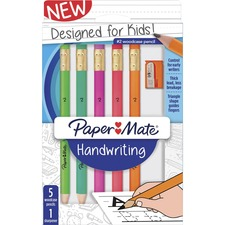 PAP 2017521 Paper Mate Early Learning Woodcase Pencils PAP2017521