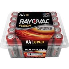 RAY 81530PPFUSK Rayovac Fusion Premium Alkaline AA Batteries Pack RAY81530PPFUSK
