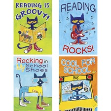 TCR 6656 Teacher Created Res. Pete the Cat Posters Set TCR6656