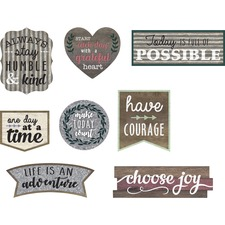 TCR 77875 Teacher Created Res. Clingy Positive Accents  TCR77875