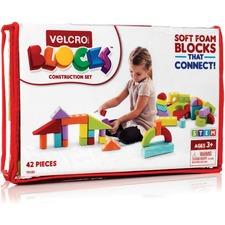 VEK 70183 VELCRO Brand Foam Blocks Construction Set VEK70183