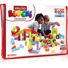 VEK 70188 VELCRO Brand Foam Blocks Construction Set VEK70188