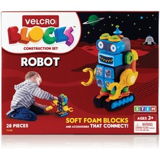 VEK 70189 VELCRO Brand Soft Blocks Robot Construction Set VEK70189