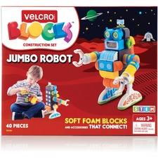 VEK 70191 VELCRO Brand Soft Blocks Jumbo Robot Set VEK70191