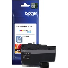 Brother INKvestment LC3035BKS Original Ink Cartridge - Black - Inkjet - Ultra High Yield - 6000 Pages - 1 Each