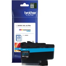 Brother INKvestment LC3035CS Original Ink Cartridge - Cyan - Inkjet - Ultra High Yield - 5000 Pages - 1 Each