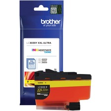 Brother INKvestment LC3035YS Original Ink Cartridge - Yellow - Inkjet - Ultra High Yield - 5000 Pages - 1 Each