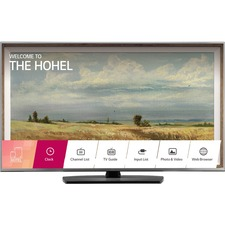 """LG UU770H 49UU770H 49"""" 2160p Smart LED-LCD TV - 16:9 - 4K UHDTV - Black, Steel Silver - ATSC - 178° / 178° - 3840 x 2160 - 20 W RMS - Edge LED Backlight - USB - Ethernet - Wireless LAN - DLNA Certified - PC Streaming - Internet Access"""