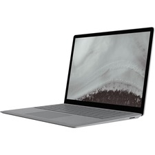"Microsoft Surface Laptop 2 13.5"" Touchscreen LCD Notebook - Intel Core i7 (8th Gen) i7-8650U Quad-core (4 Core) 1.90 GHz - 8 GB LPDDR3 - 256 GB SSD - Windows 10 Pro - 2256 x 1504 - PixelSense - Platin"