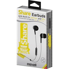 MAX 199723 Maxell Share Earbuds MAX199723