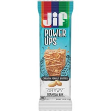 FOL 24440 Folgers Jif PowerUp Chewy Granola Bars FOL24440