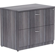 LLR 69563 Lorell Essentials Weathered Charcoal Lateral File LLR69563