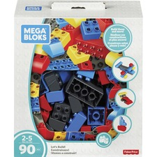 MBL FLY44 Mega Bloks Let's Build! Building Blocks Set MBLFLY44