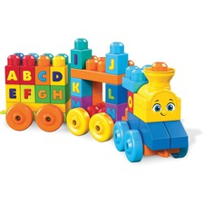 MBL FWK22 Mega Bloks First Builders ABC Musical Train MBLFWK22
