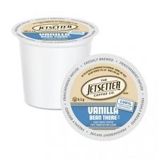 Jetsetter Vanilla Bean There Coffee - Arabica, Vanilla Bean - Light - 24 / Box
