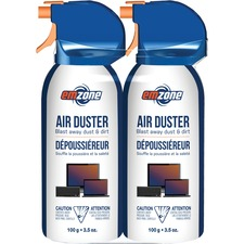 Empack Mini Air Duster 2-pack - For Computer, Electronic Equipment, Office Equipment, Automotive - 103.51 mL100 g - Ozone-safe, VOC-free, Residue-free, Moisture-free - 1 / Pack - Multi