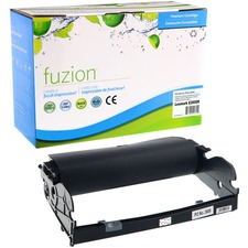 fuzion Remanufactured LEX E260 Drum Unit - Laser Print Technology - 30000 Pages - 1 Each