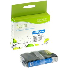 fuzion Remanufactured Ink Cartridge - Alternative for Epson 200XL - Cyan - Inkjet - High Yield - 450 Pages - 1 Each