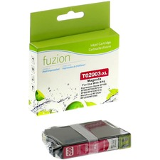 fuzion Remanufactured Ink Cartridge - Alternative for Epson 200XL - Magenta - Inkjet - High Yield - 450 Pages - 1 Each