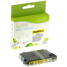 fuzion Remanufactured Ink Cartridge - Alternative for Epson 200XL - Yellow - Inkjet - High Yield - 450 Pages - 1 Each
