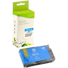 Fuzion Remanufactured Ink Cartridge - Alternative for HP 951XL - Cyan - Inkjet - High Yield - 1500 Pages - 1 Each