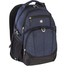 "Holiday Carrying Case (Backpack) for 15.6"" Notebook - Navy - Denim - Shoulder Strap - 19"" (482.60 mm) Height x 8"" (203.20 mm) Width x 14"" (355.60 mm) Depth"