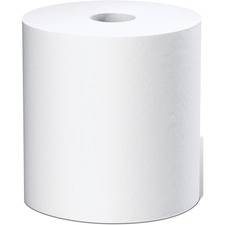 """White Swan 1-ply Dispenser Paper Towels - 1 Ply - 8"""" x 800 ft - White - Absorbent, Soft, Embossed, Textured - For Hand - 6 / Carton"""