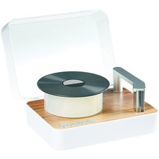 "Scotch Magic Tape Dispenser, Record Player - 1"" (25.40 mm) Core - Refillable - 1 Each"