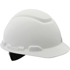 3M Non-vented Hard Hat - Ratchet, Non-vented, Comfortable, Low Profile, Lightweight, Cushioned, Adjustable Height, Breathable - Overhead Falling Objects Protection - Foam Pad - 1 Each