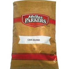 Mother Parkers Café Blend Coffee - 2.5 oz Per Packet - 64 Packet - 64 / Carton