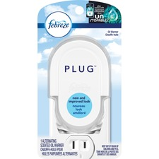 Febreze Plug Scented Oil Warmer - 45 Day(s) Refill Life - 1 Each - White