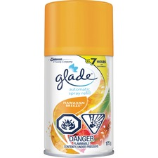 Glade Air Freshener Refill - Spray - 183.36 mL - Hawaiian Breeze - 60 Day - 1 Each