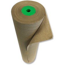 "Spicers Paper Kraft Wrapping Paper Roll - Wrapping, Box - 24"" (609.60 mm) x 900 ft (274320 mm) - 1 Each - Kraft"