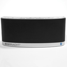 Spracht Blunote2.0 WS-4014 Portable Bluetooth Speaker System - Black - Battery Rechargeable - 1 Pack