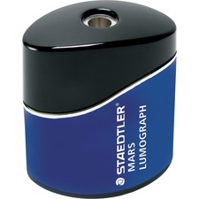 Staedtler Single Hole Oval Pencil Sharpener - Portable - 1 Hole(s) - Metal - Blue