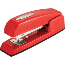 Swingline 747 Rio Red Compact Stapler - 25 Sheets Capacity - Half Strip - Rio Red