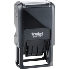 "Trodat PAID Text Window Self-inking Dater - ""PAID"" - Blue, Red - 1 Each"