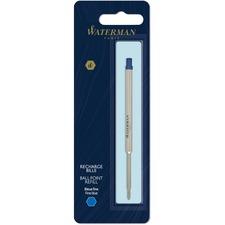 Waterman Fine Point Ballpoint Pen Refill - Fine Point - Blue Ink - 1 Each