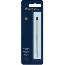 Waterman Fine Point Ballpoint Pen Refill - Fine Point - Black Ink - 1 Each