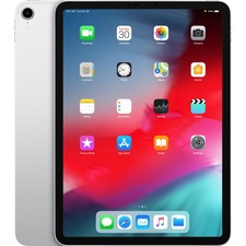 "Apple iPad Pro Tablet - 11"" - Apple A12X Bionic - 256 GB - iOS 12 - 2388 x 1668 - Liquid Retina Display, In-plane Switching (IPS) Technology, True Tone Technology - Silver"