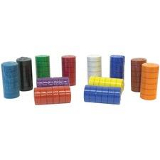 Funstuff Tempera Blocks - 6 / Pack - Red