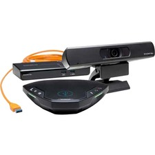 Konftel - video conferencing kit - Konftel C20Ego - up to 6 persons - 3840 x 2160 Video (Live) - 4K UHD - 30 fps - 1 x HDMI Out - USB